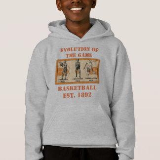 Evolution of the Game--Basketball Hoodie