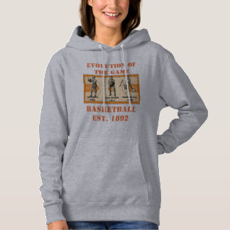 Evolution of the Game--Basketball Hoodie