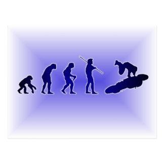 Evolution of the Highside (Blue) Postcard