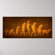 Evolution of the Masses Print