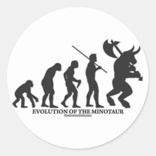 Evolution of the MInotaur Sticker