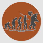 Evolution of the MInotaur Stickers