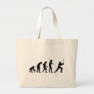 Evolution of the Ninja - from Man to Ninja Bags