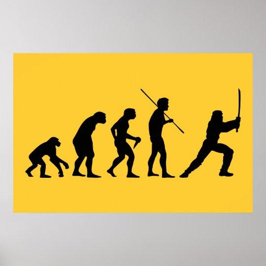 Evolution of the Ninja - from Man to Ninja Poster