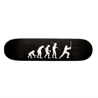 Evolution of the Ninja - from man to ninja Skateboard Deck