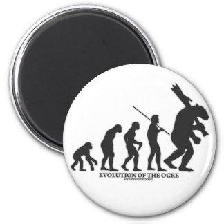 Evolution of the Ogre Fridge Magnet