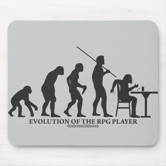 Evolution of the RPG Player Mouse Pad