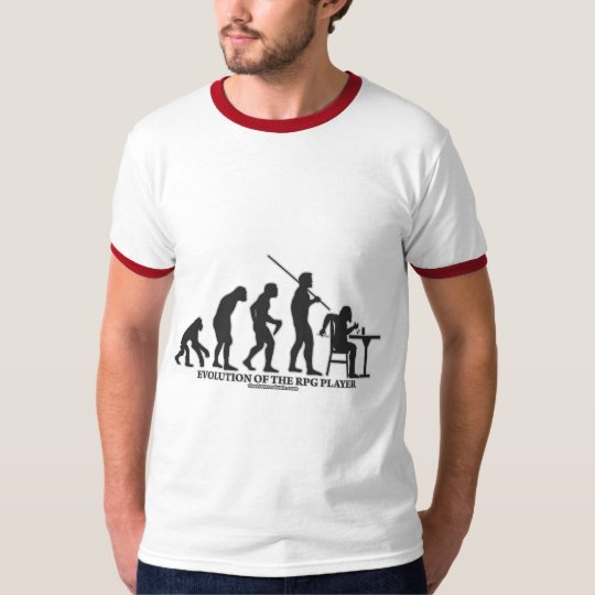 Evolution of the RPG Player T-Shirt