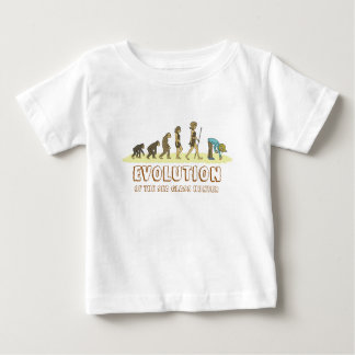 Evolution of the Sea Glass Hunter Baby T-Shirt