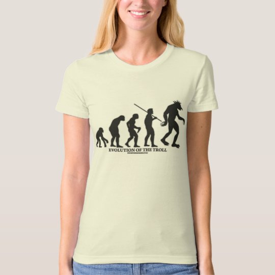 Evolution of the Troll T-Shirt