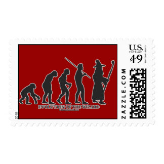 Evolution of the Wizard Postage Stamp