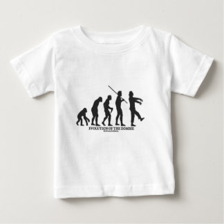 Evolution of the Zombie Baby T-Shirt