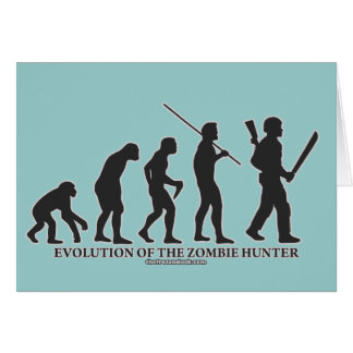 Evolution of the Zombie Hunter Card