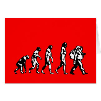 Evolution of Tradition Atheist Christmas Cards