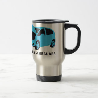 evolution of usted car auto mechanic taza térmica