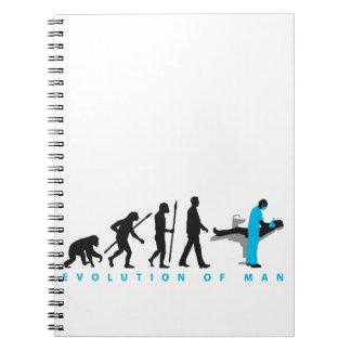 evolution of usted dentist notebook