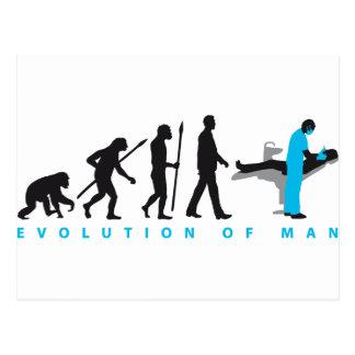 evolution of usted dentist postales