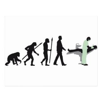 evolution of usted dentist tarjetas postales