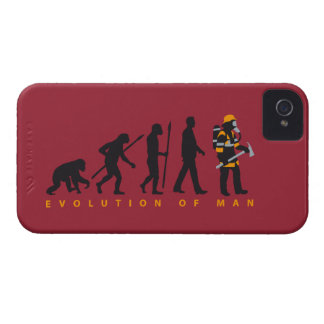 evolution of usted firefighter funda para iPhone 4 de Case-Mate