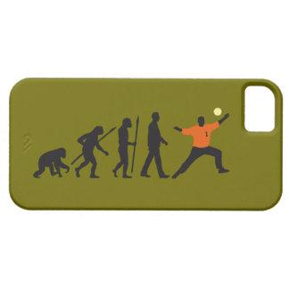 evolution of usted handball goal keeper iPhone 5 carcasa