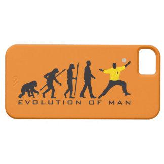 evolution of usted handball goal keeper iPhone 5 carcasas