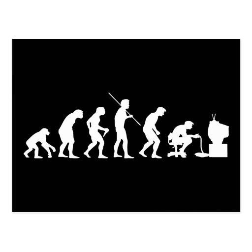 Evolution of Video Games Gaming Gamer Postcards