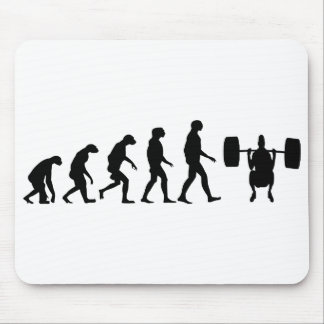 Evolution of Weightlifting Mouse Pad