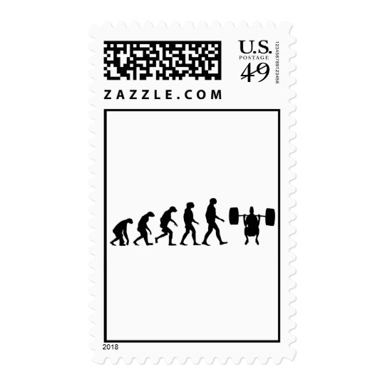 Evolution of Weightlifting Postage