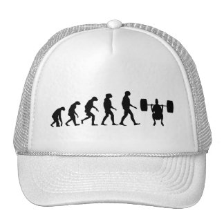 Evolution of Weightlifting Trucker Hat