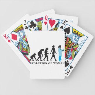 evolution of woman female doctor barajas de cartas