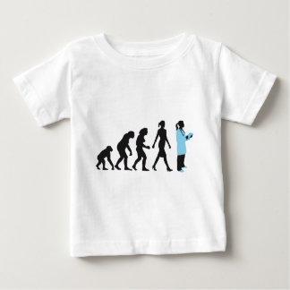 evolution of woman female doctor remeras