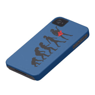 evolution OF woman female e-guitar more player Case-Mate iPhone 4 Case