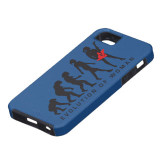 evolution OF woman female e-guitar more player iPhone SE/5/5s Case