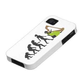 evolution OF woman female harp more player iPhone 4/4S Cover