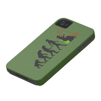 evolution OF woman female harp more player iPhone 4 Case