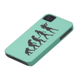 evolution OF woman female violin more player Case-Mate iPhone 4 Case
