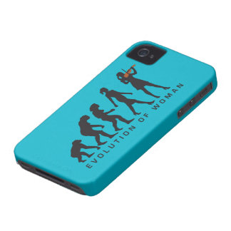evolution OF woman female violin more player iPhone 4 Case