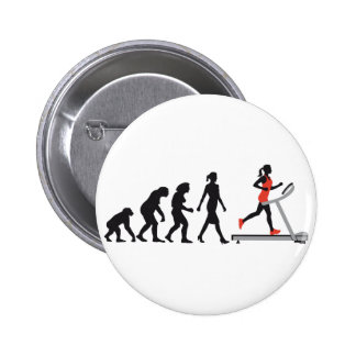 evolution OF woman jogging on A treadmill fitness