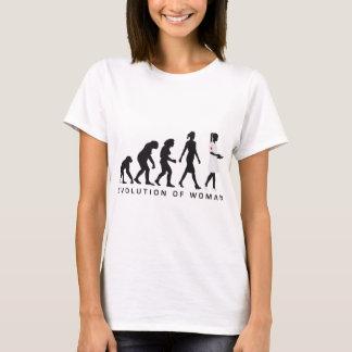evolution OF woman nurse T-Shirt