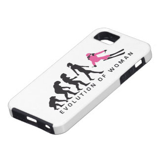 evolution OF woman skiing iPhone SE/5/5s Case