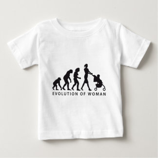 evolution OF woman with baby Baby T-Shirt