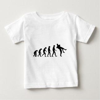 Evolution of Wrestling Baby T-Shirt