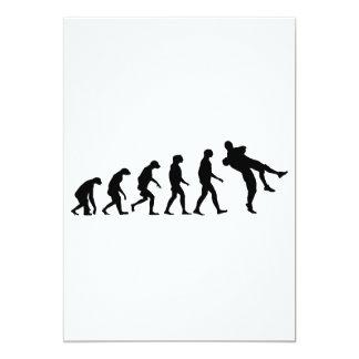 Evolution of Wrestling Card