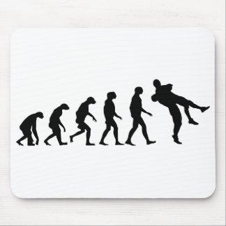 Evolution of Wrestling Mouse Pad