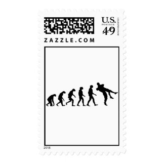 Evolution of Wrestling Postage