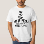 Evolution of Wrestling T-Shirt