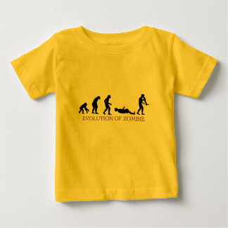 Evolution of Zombie Baby T-Shirt