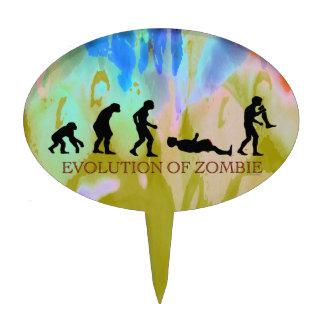 Evolution of Zombie Cake Pick