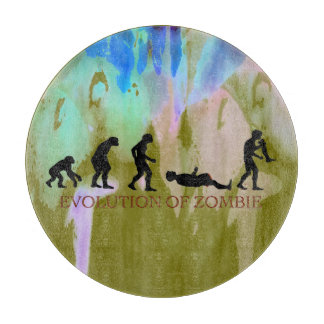 Evolution of Zombie Cutting Board