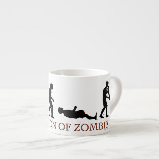 Evolution of Zombie Espresso Cup